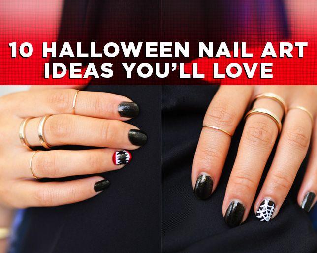 10 Halloween Nail Ideas You Ll Love