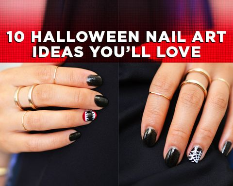 10 Halloween Nail Art Ideas You'll Love