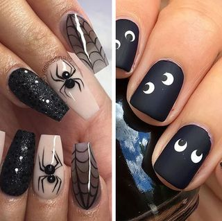 halloween nails nail art ideas