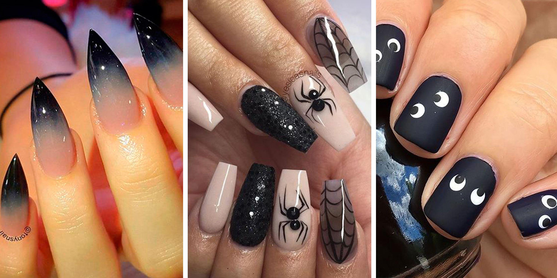 halloween nails nail art ideas