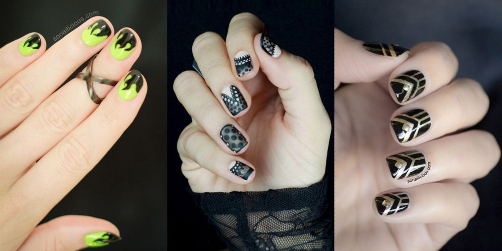 Easy Nail Art Designs Halloween