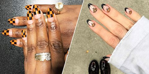 11 Fall Nail Art Designs Nail Art For Fall 2018