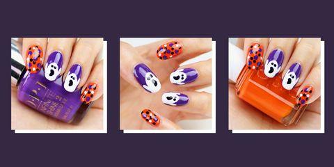 halloween nails best 2018