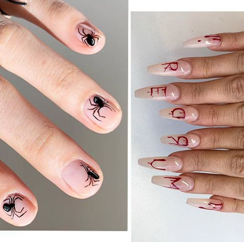 20 Halloween Nail Art Designs Cool Halloween Nails For 2019