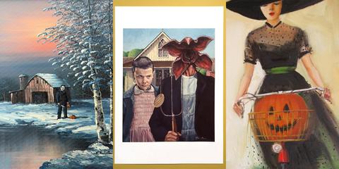 Fashion, Art, Collage, Vintage clothing, Illustration, Pattern, Visual arts, Style,
