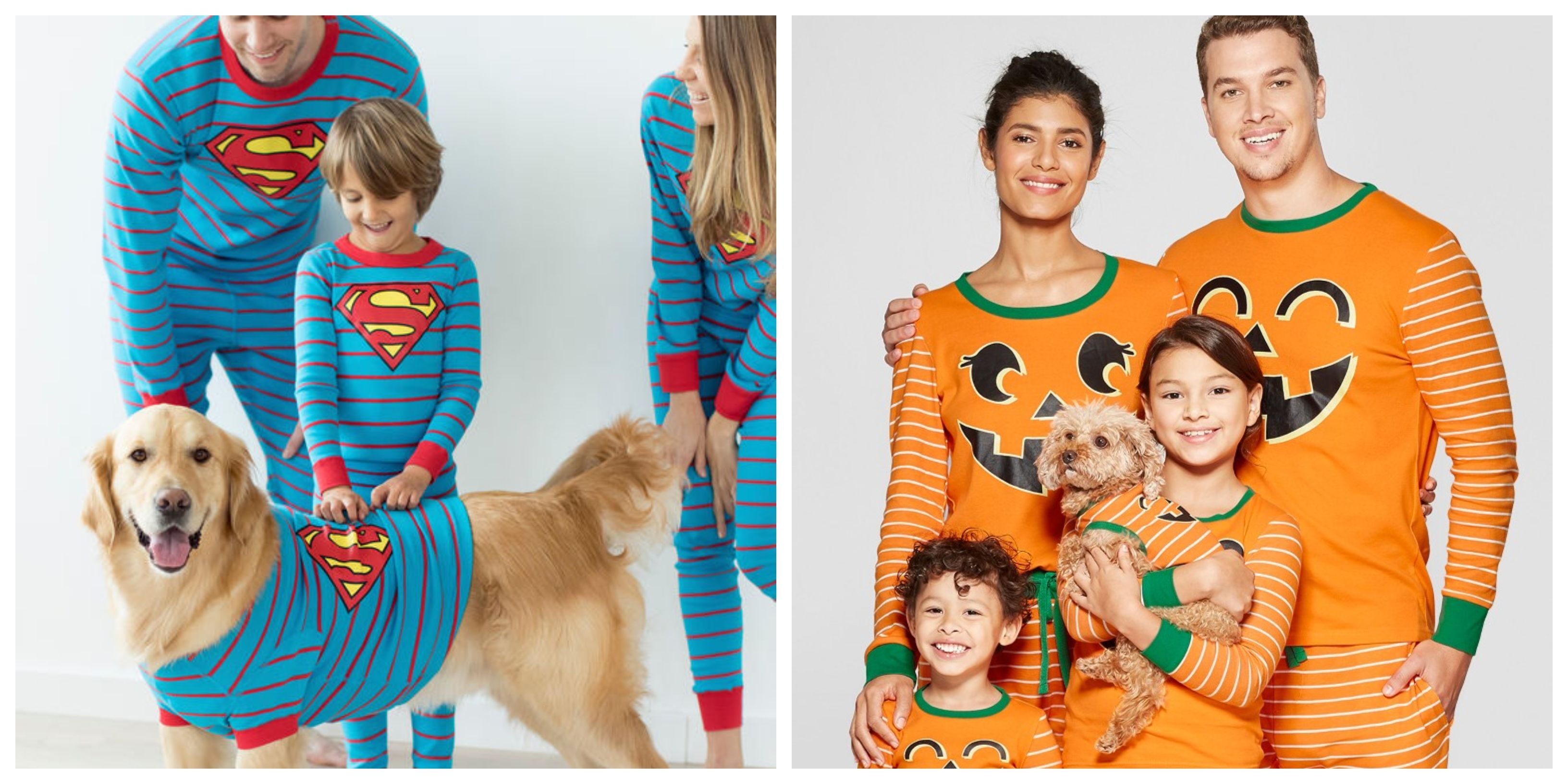 You Can Now Get Matching Halloween Pajamas for the Whole Family—Even the Dog