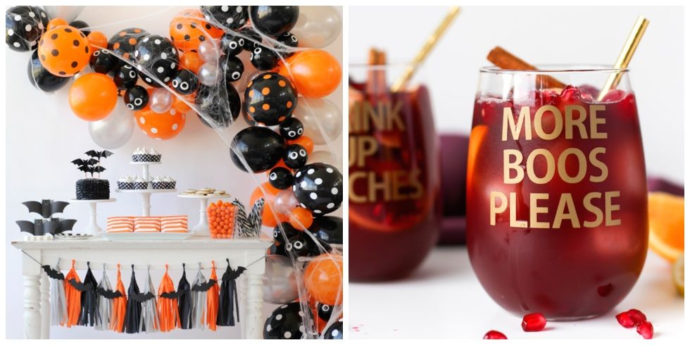 Halloween Party Decorating Ideas   Spooky Halloween Party Decor