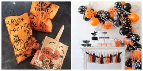 49233b73610 45 Fun Halloween Party Decorating Ideas - Spooky Halloween Party Decor