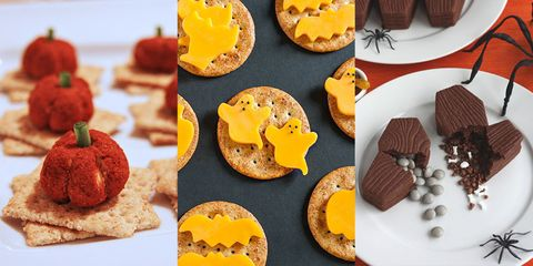 40 Creepy And Creative Snacks For Your Halloween Party