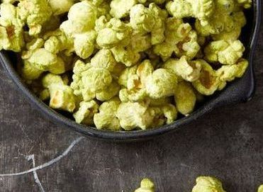 Fun Things to Do at a Sleepover - - matcha popcorn