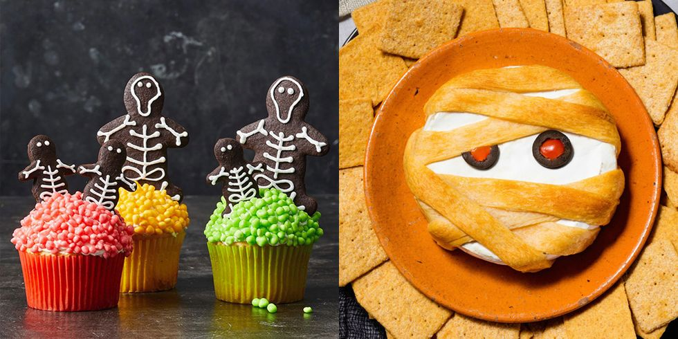 55 Creative Halloween Party Snacks That Are Equally Creepy and Cute