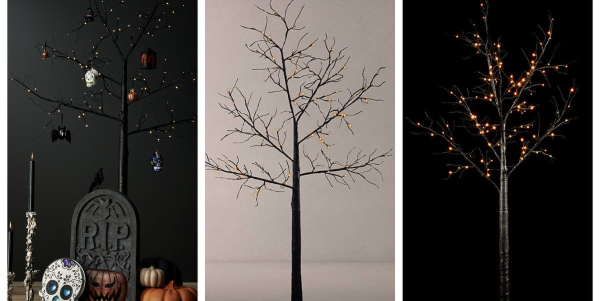 John Lewis Is Selling A Black Pre Lit Halloween Tree