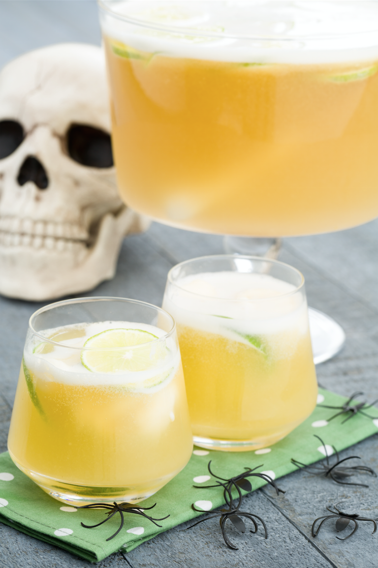 halloween frankenpunch recipe