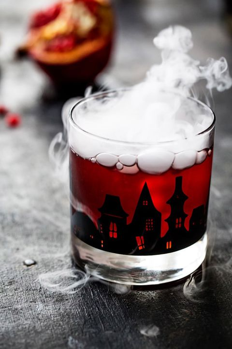 halloween punch pomegranate