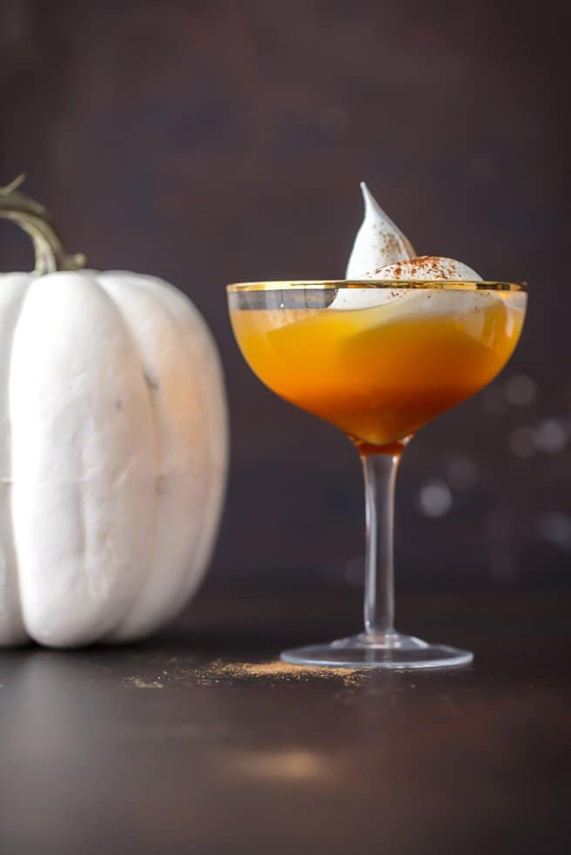 halloween punch pumpkin