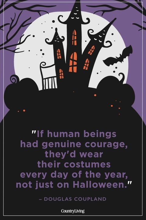 Halloween Quotes Douglas Coupland