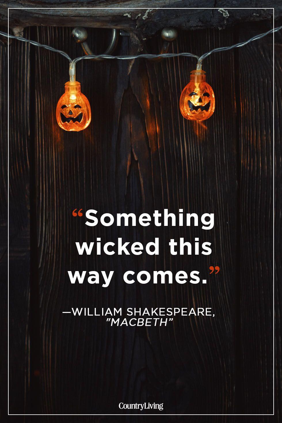 halloween quotes william shakespeare macbeth