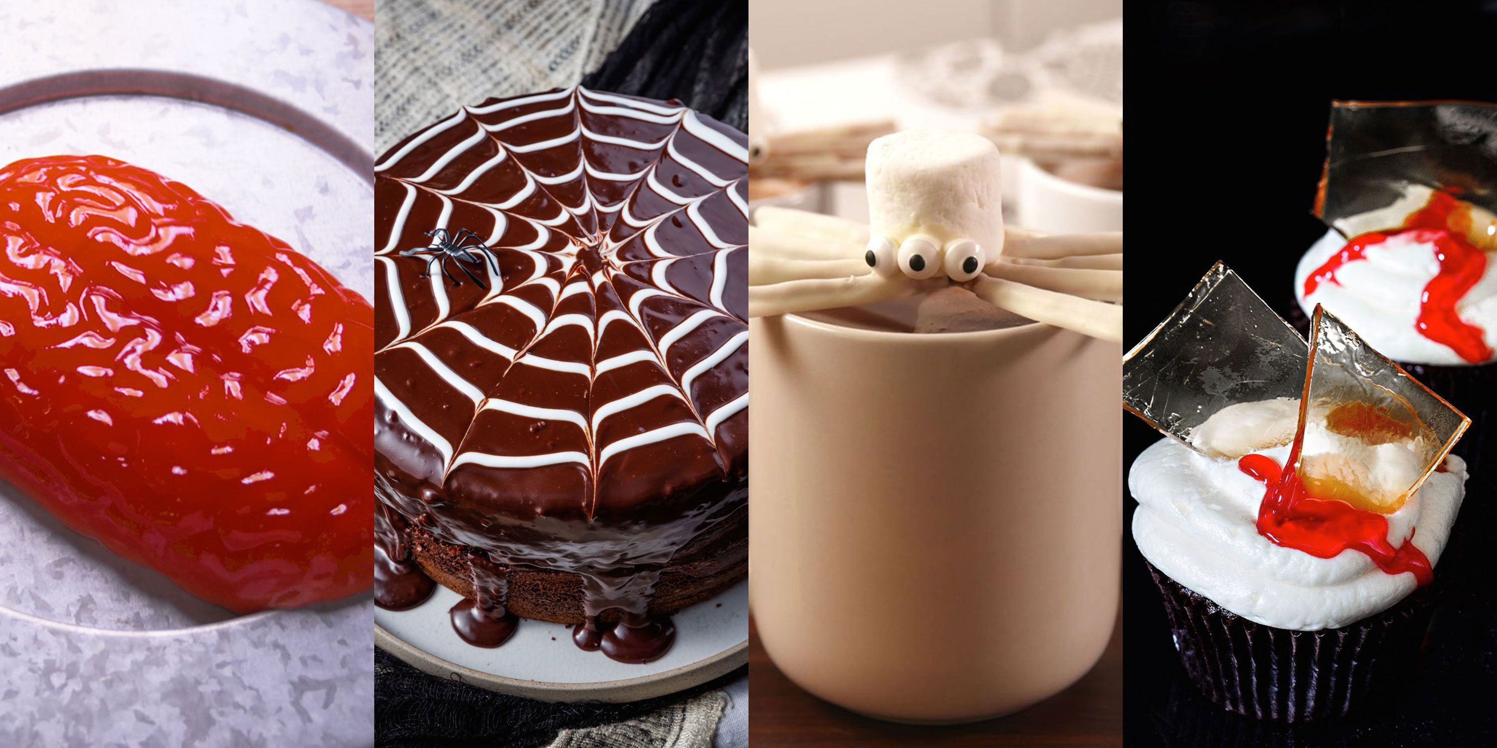 19 easy halloween recipes - gross and scary halloween food ideas