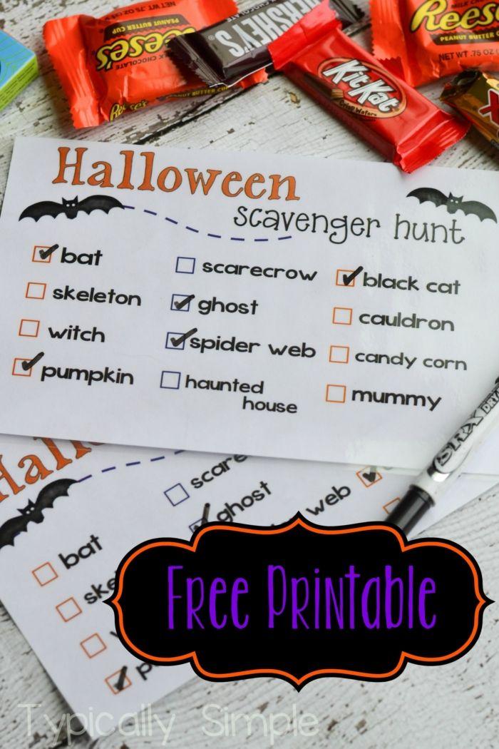 photograph regarding Halloween Games Printable named 25 Halloween Video games for Small children - Enjoyment Online games for Halloween