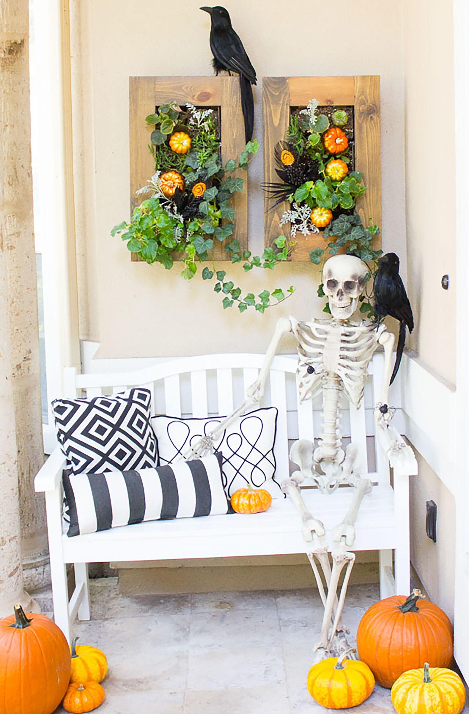 50 easy diy halloween decoration ideas homemade halloween decor rh womansday com halloween decoration ideas 2019 halloween decoration ideas 2019