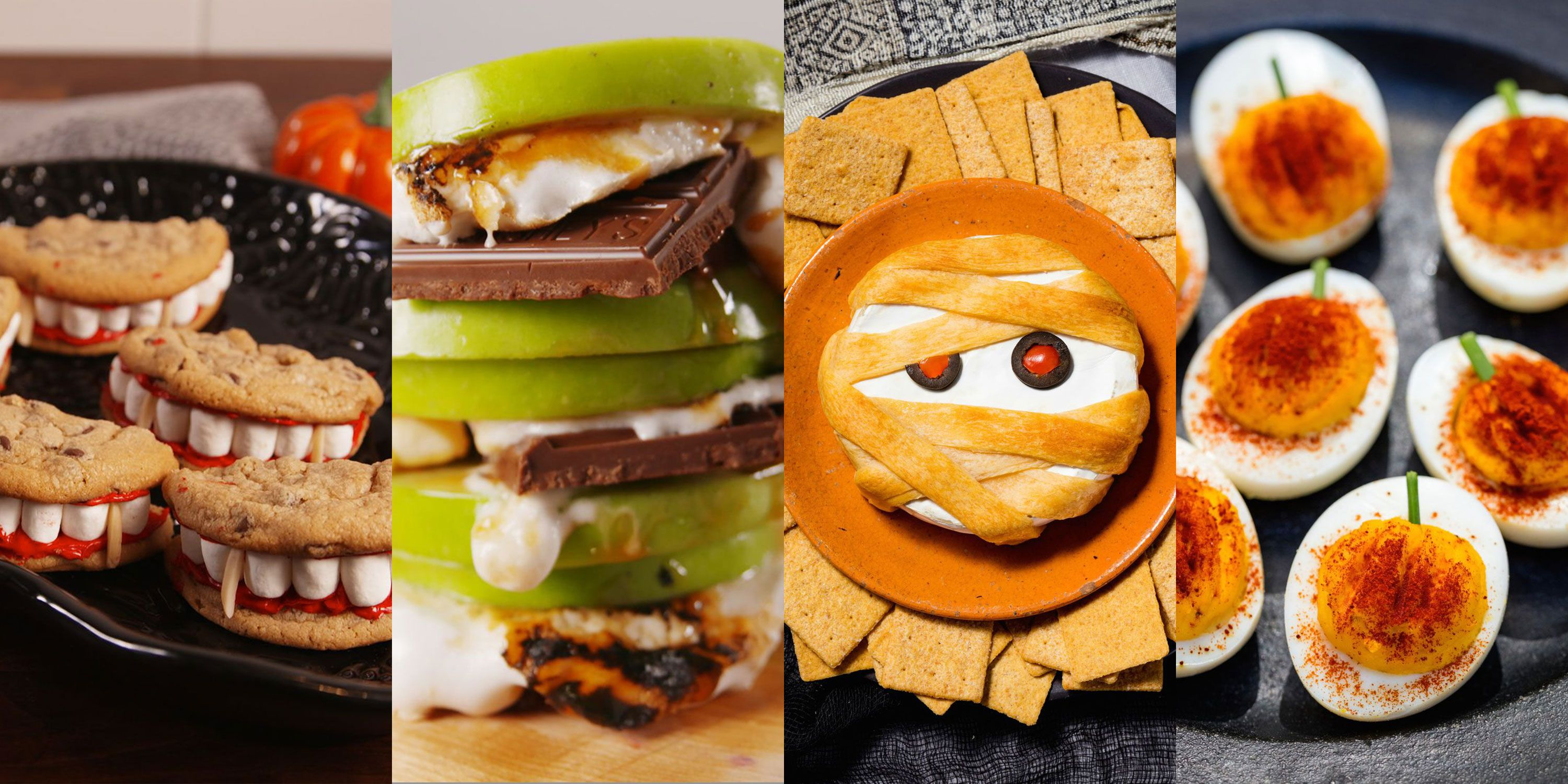 20+ easy halloween snacks - fun ideas for halloween snack recipes