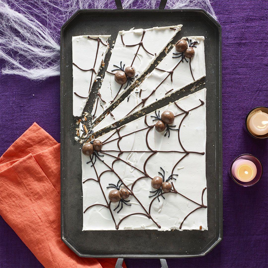 Woman's day halloween spider bark