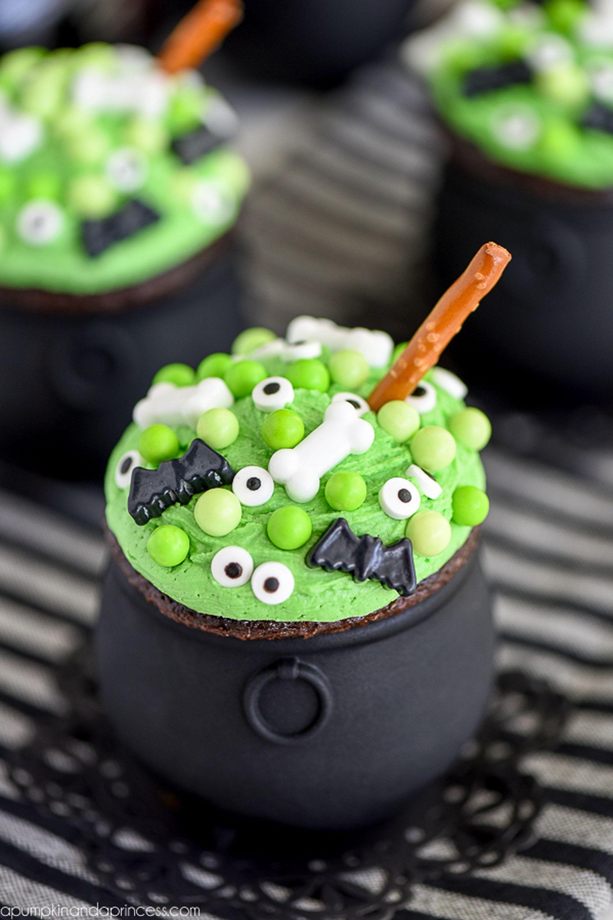halloween sweets cupcakes