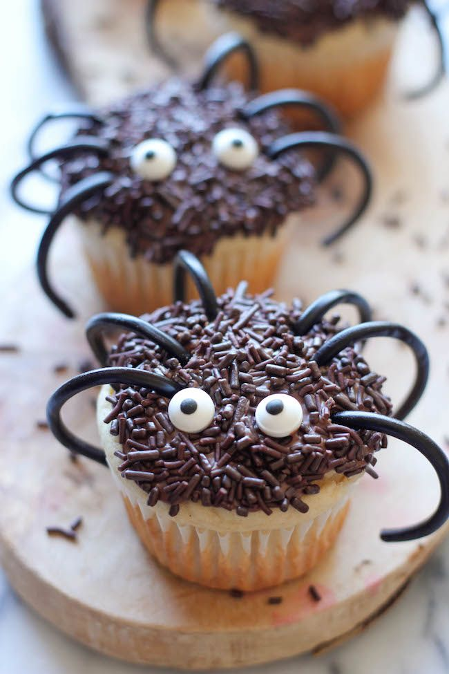 halloween sweets cupcakes