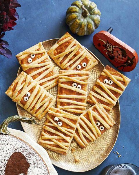 mummy pumpkin hand pies