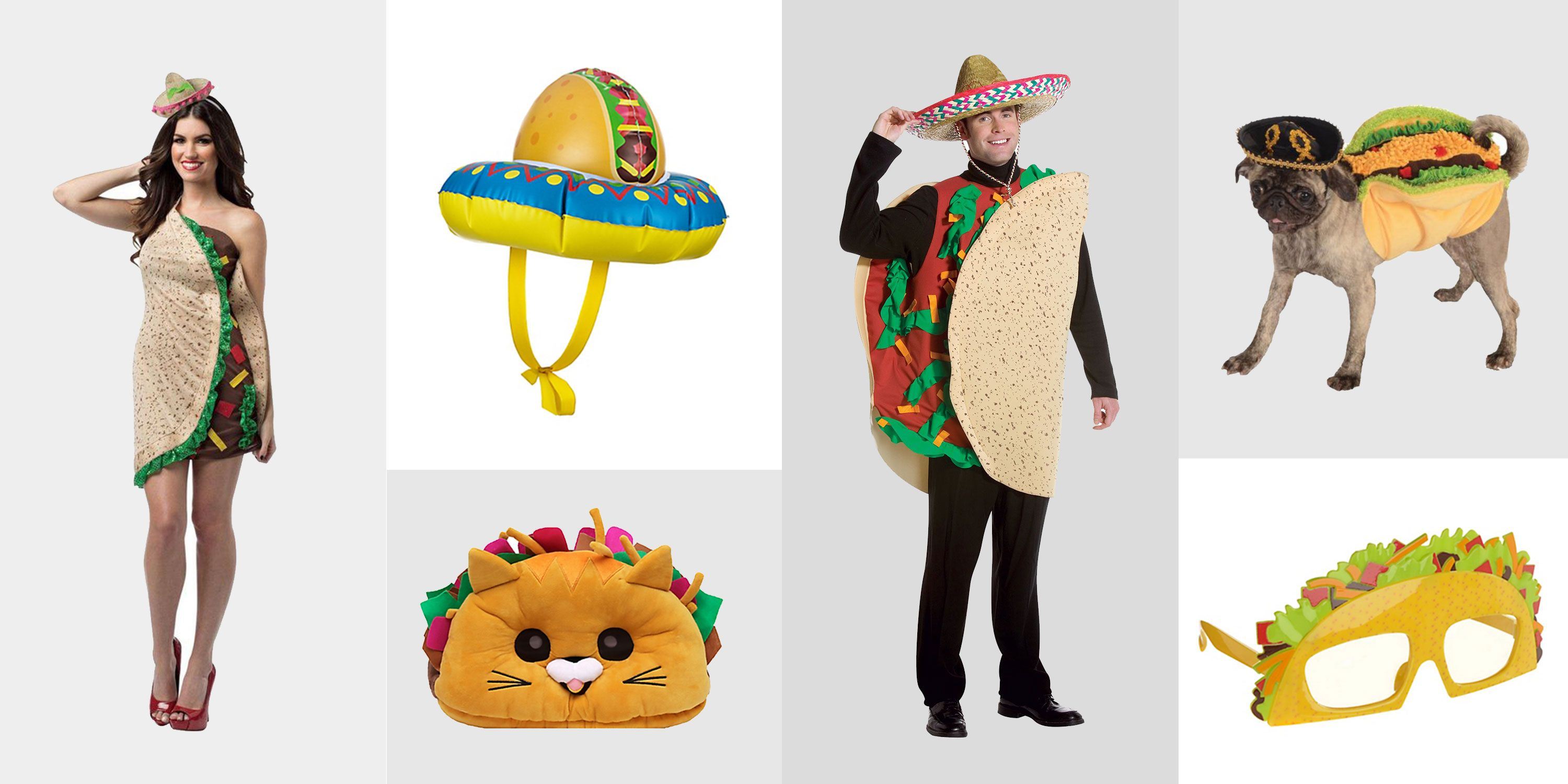 10 Taco Costumes For Halloween 2018 For Women Men Pets
