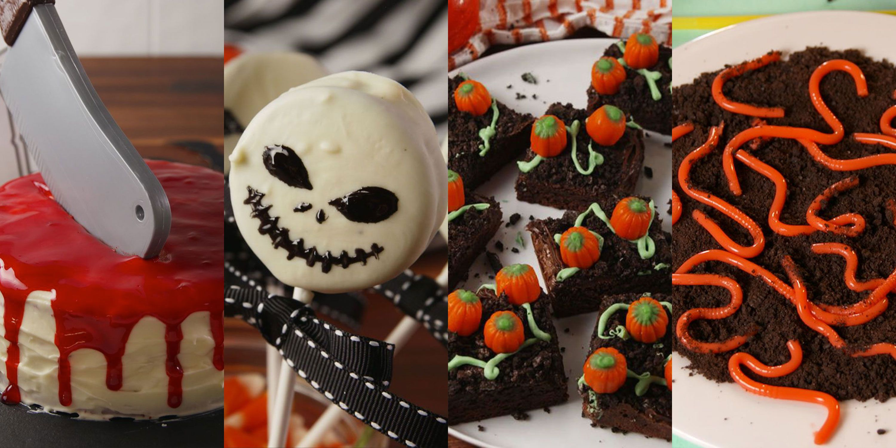 29 easy halloween party treat ideas - best recipes for halloween