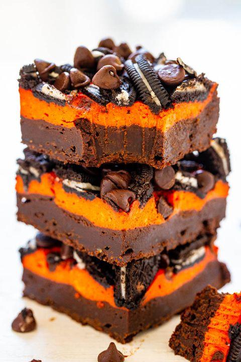 halloween treats brownies