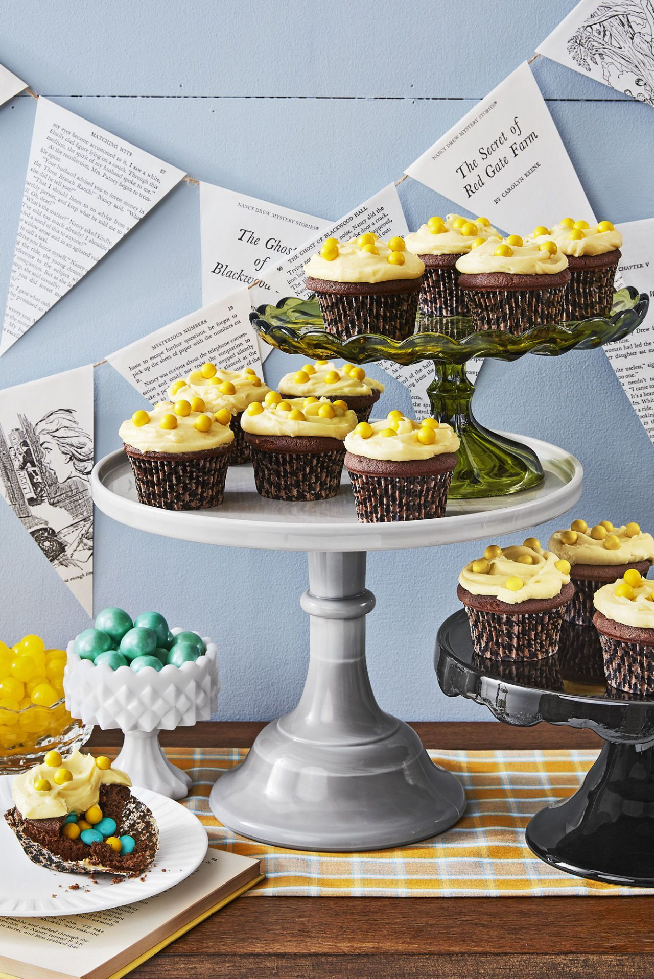 halloween treats for kids candy devil's food cupcakes