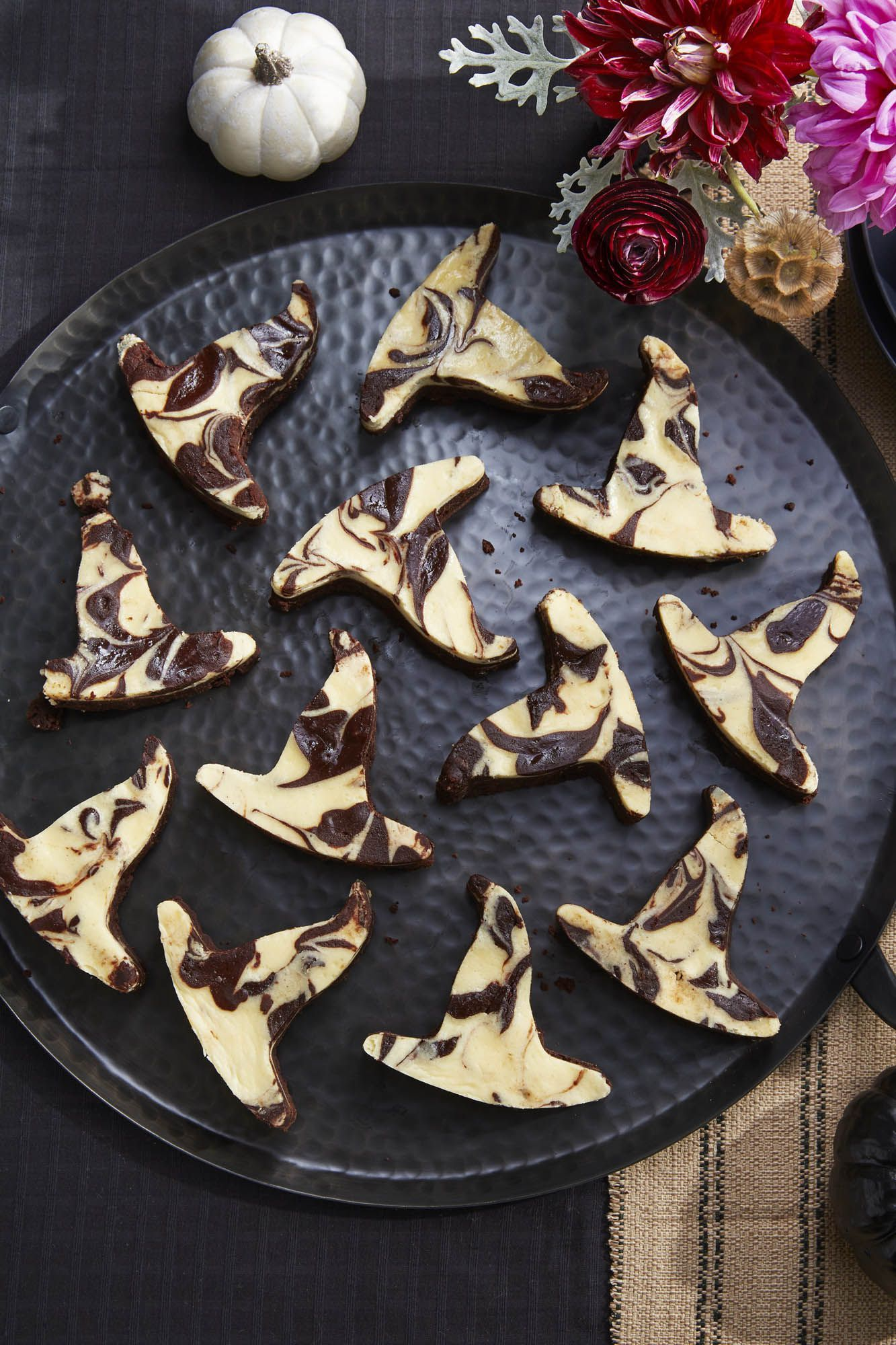 halloween treats for kids witch hat brownies