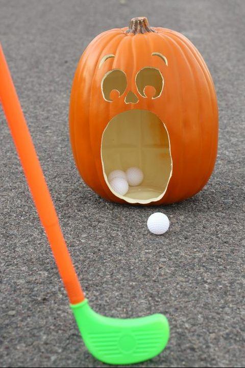 halloween games golf