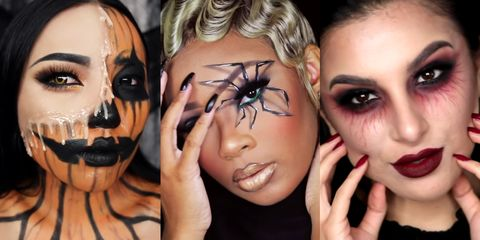30 easy halloween makeup ideas  simple halloween makeup