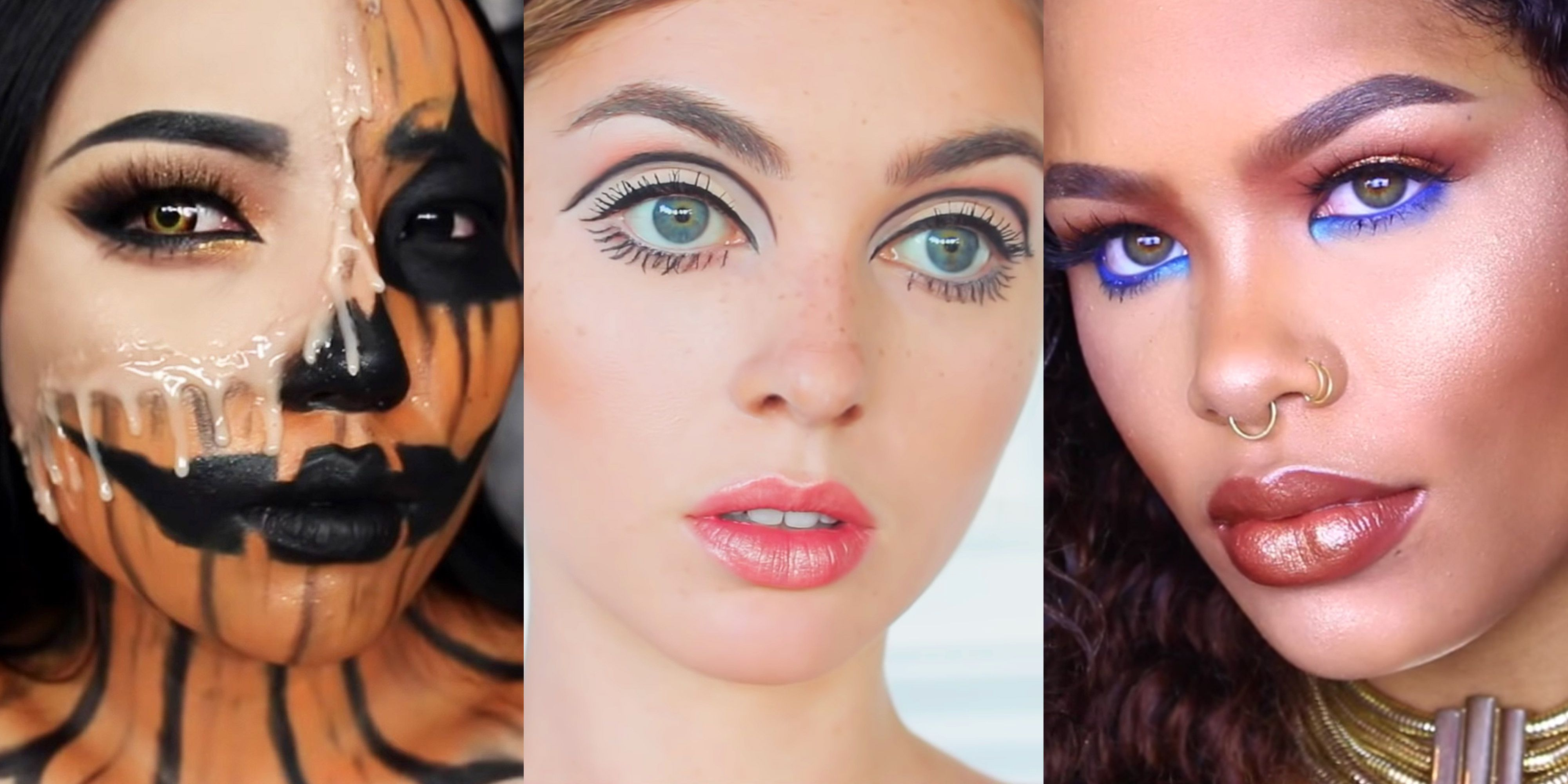 9 Easy Halloween Makeup Ideas  Simple Halloween Makeup Tutorials