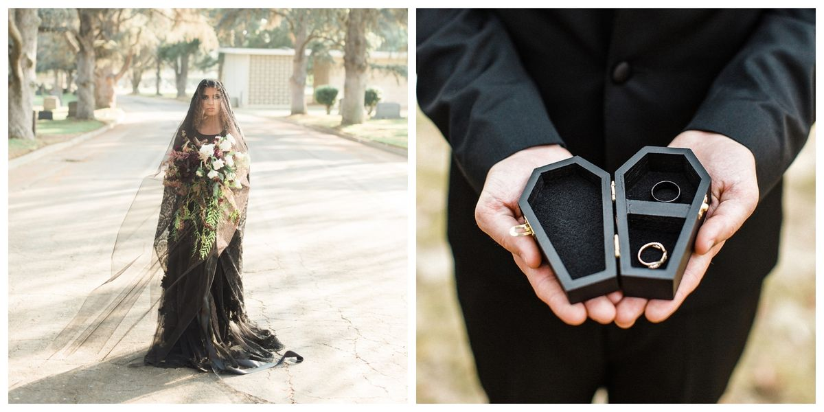20 Halloween Wedding Ideas Gothic Weddings