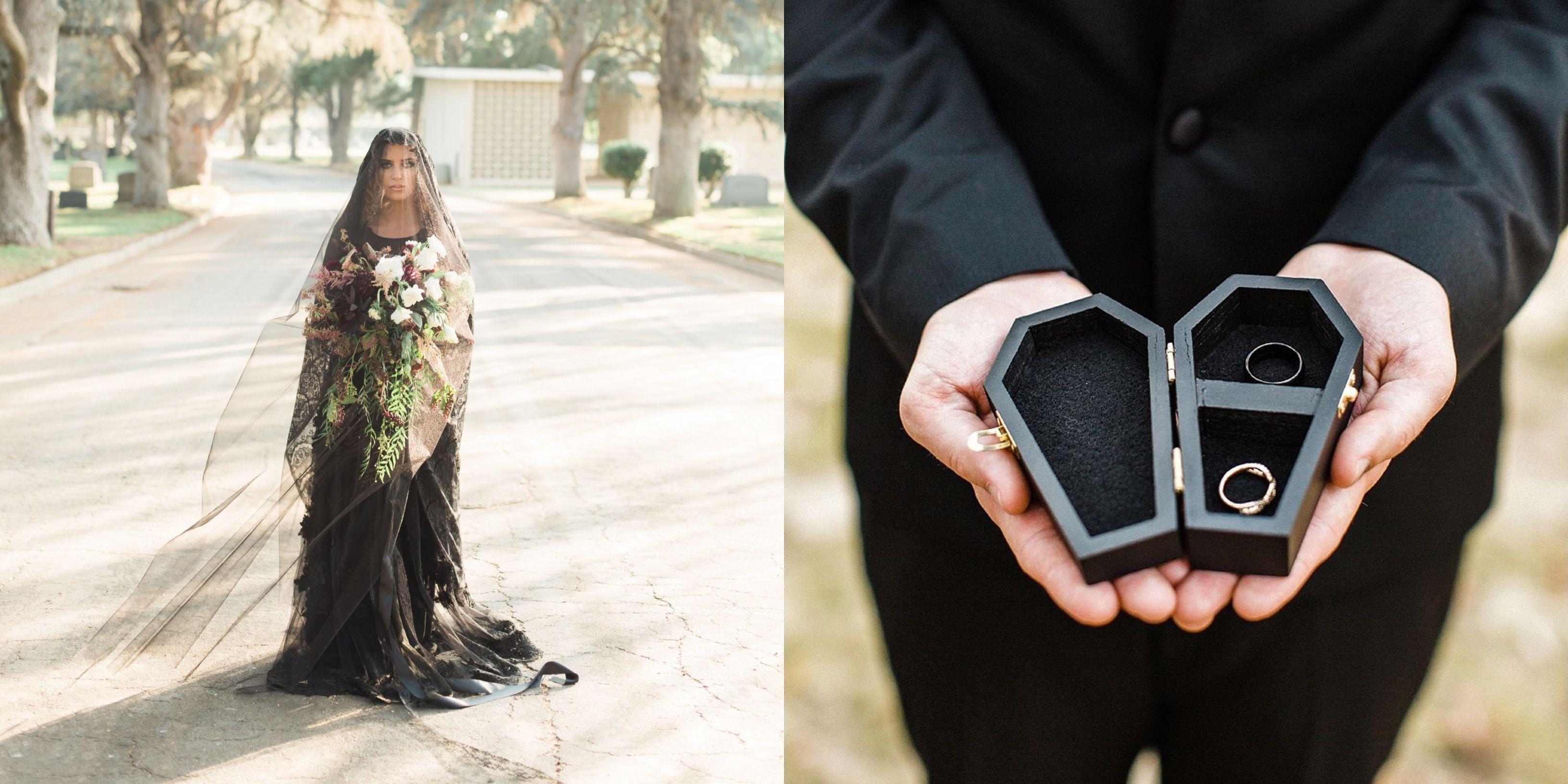 10 Halloween Wedding Ideas - Gothic Weddings