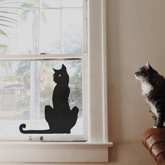best halloween window decor