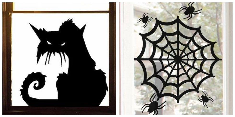 20 Halloween Window Decorations