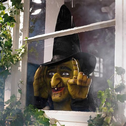 13 Halloween Window Decorations Scary Window Decor And Clings