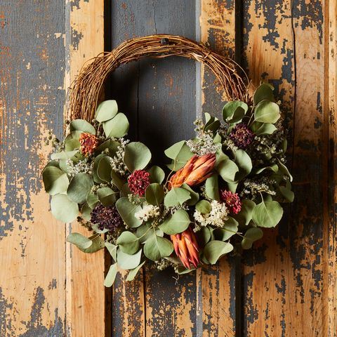 pretty halloween wreath ideas