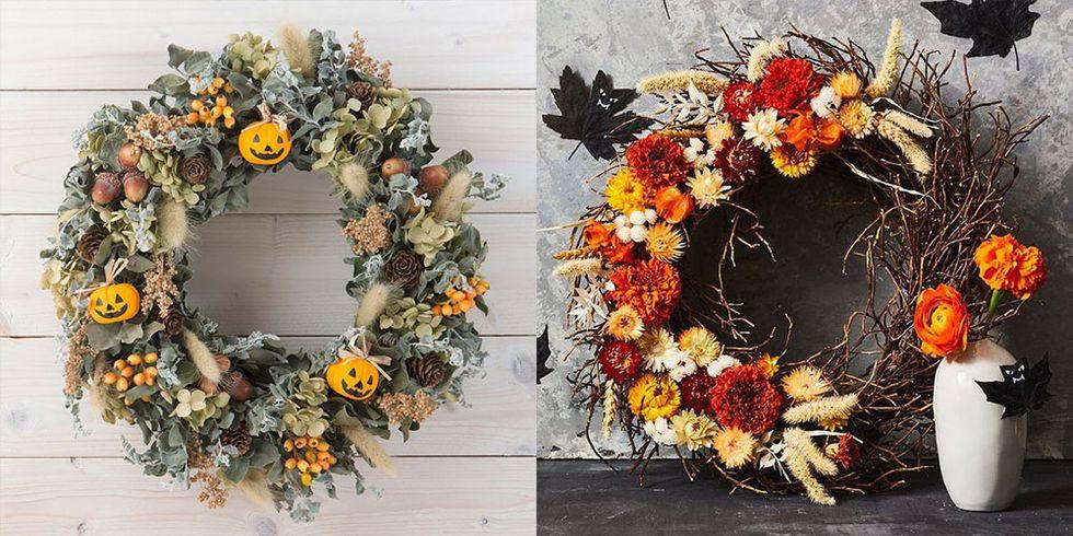 40+ Spooktacular Halloween Wreaths to Make a Good Impression