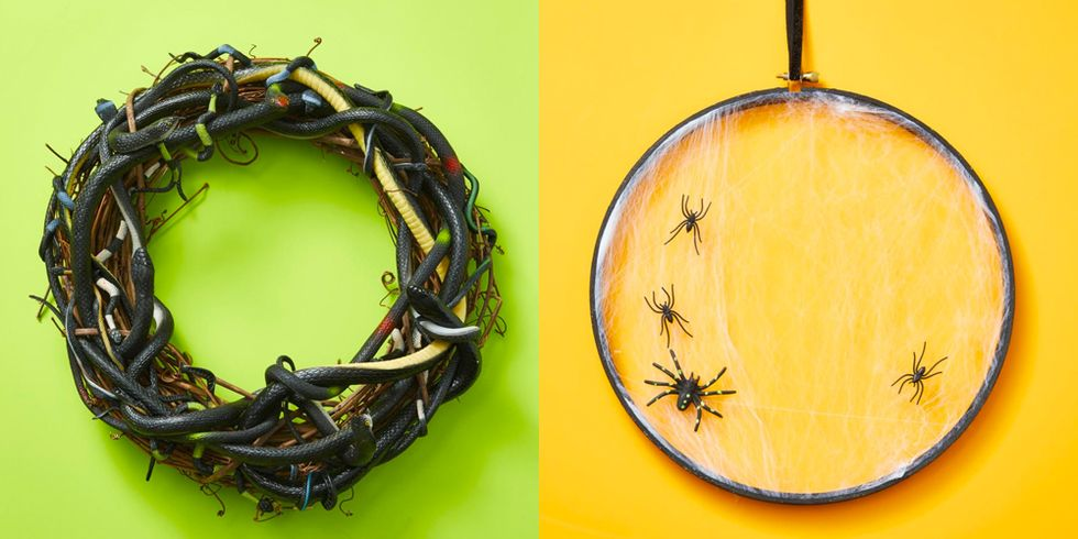16 Halloween Wreaths to Instantly Up Your Home's Creep Factor