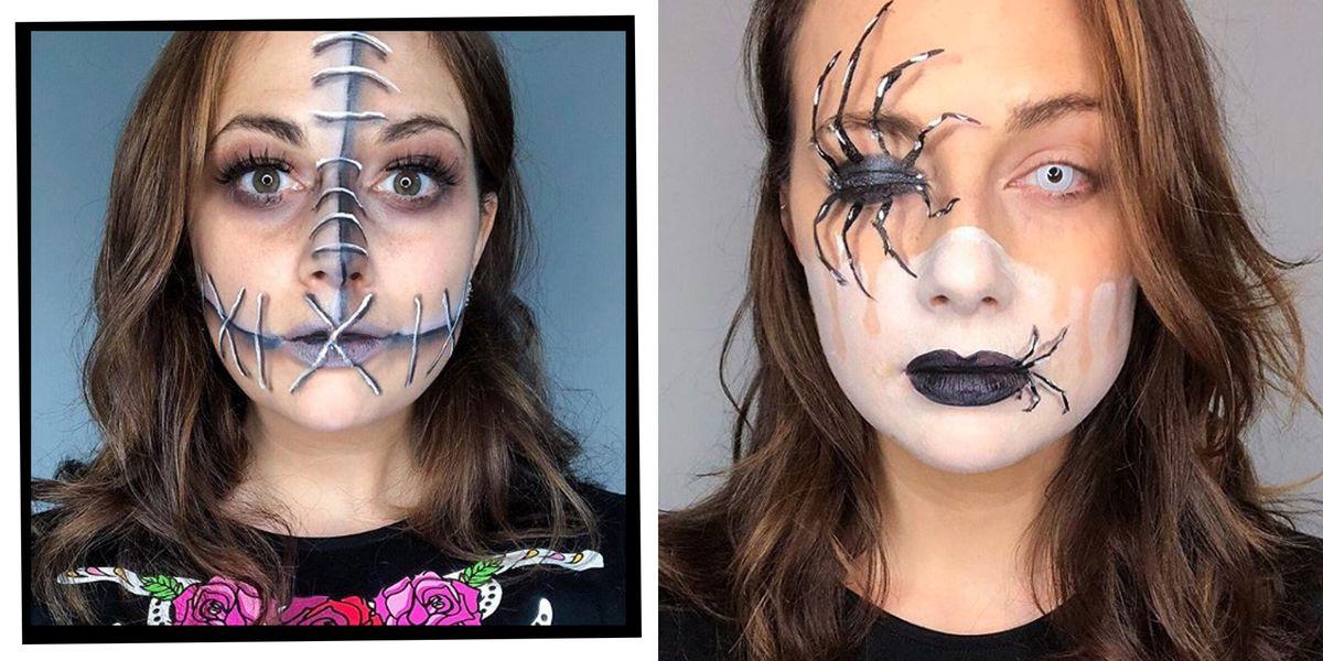 Halloween Makeup Tutorials How To Do The Easiest Ever Halloween - Halloween-makeup-tutorial