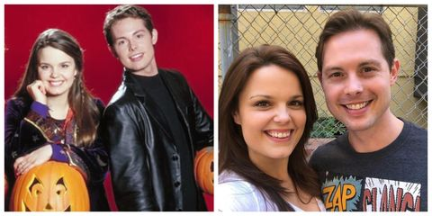 Kimberly J Brown And Daniel Kountz From Disney S Halloweentown Are