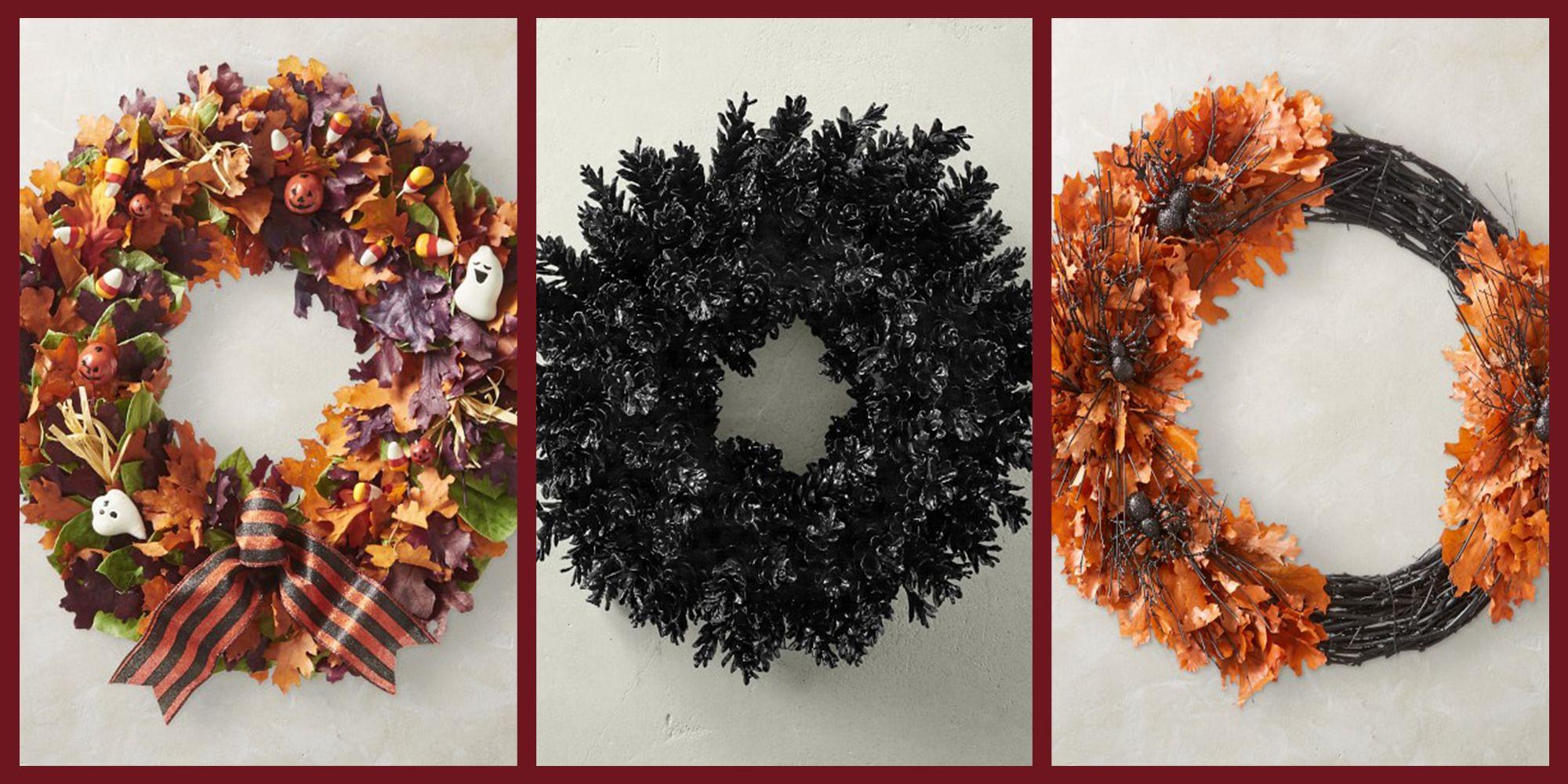 13 Best Halloween Wreaths For Fall 2020 Festive Halloween Door Decorations