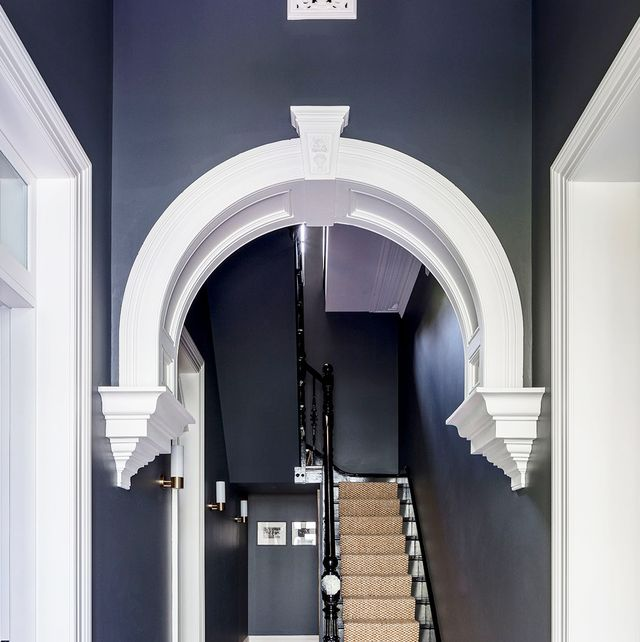 Designers Share The 15 Best Hallway Colors Colorful Hallways And