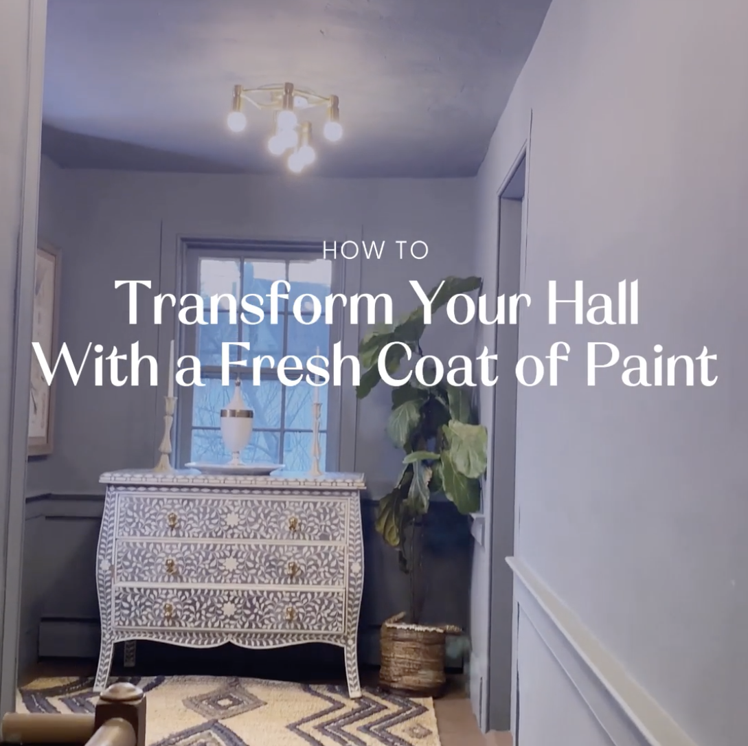 How A Fresh Coat of Paint Can Transform Your Hallways